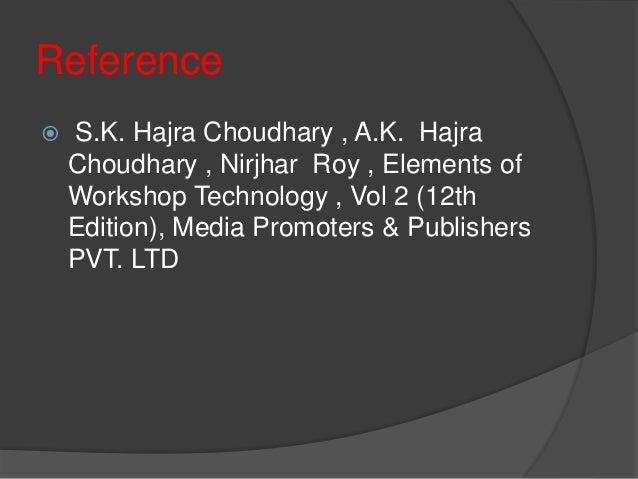 Hajra Choudhary Workshop Technology Vol 1 Pdf