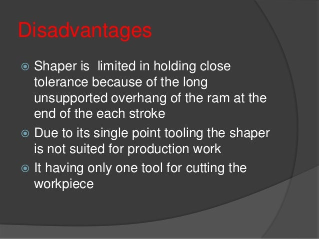 Difference between shaper and planer mech4study.