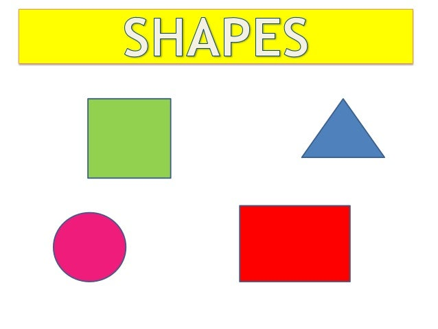 basic shapes english for kids - Simple Shapes