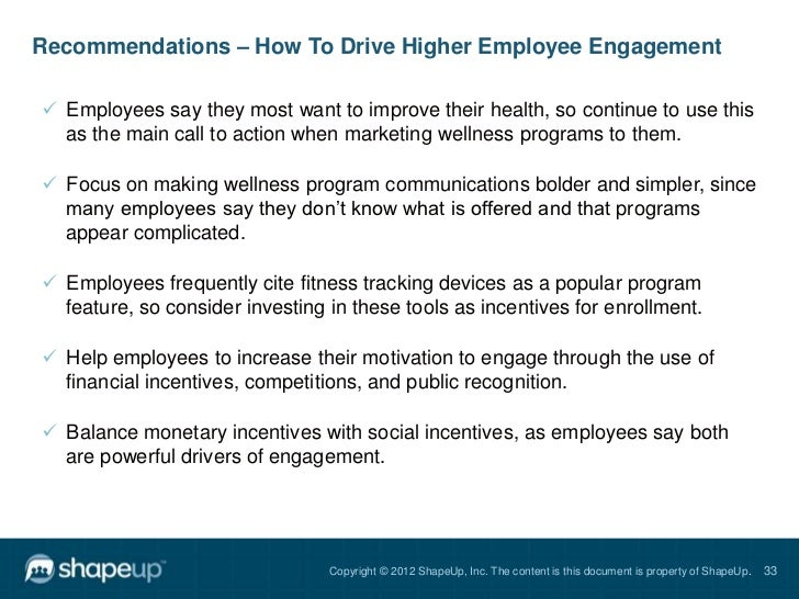 report what employees want in corporate wellness programs 32 33