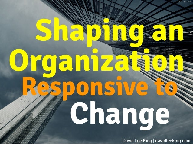 Shaping an