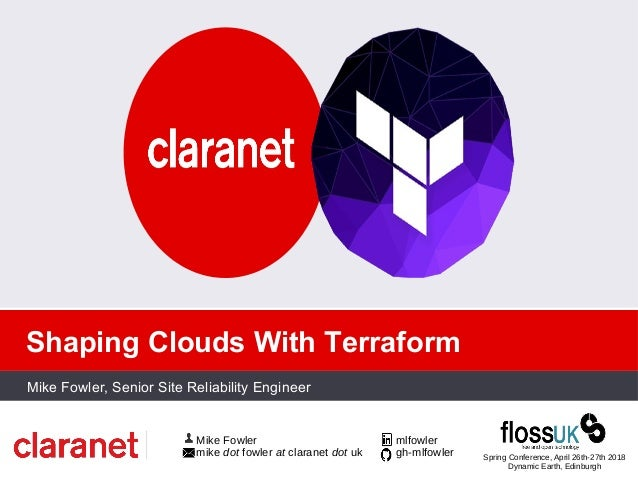 Shaping Clouds with Terraform