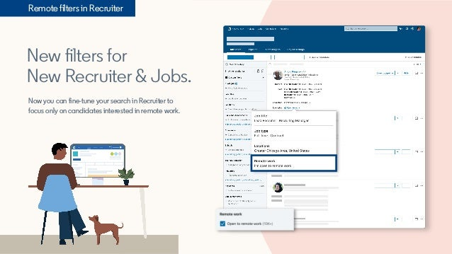 New filters for New Recruiter & Jobs. Now you can fine-tune your search in Recruiter to focus only on candidates intereste...