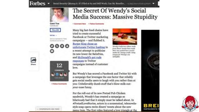 Wendys case study