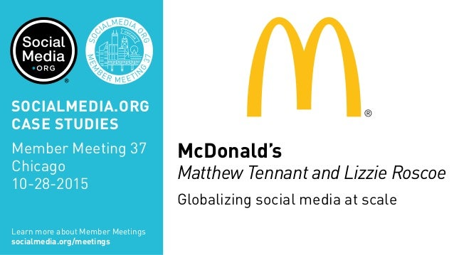 mcdonalds and society Mcdonald's benefits and compensation program is designed to attract, retain, and engage talented people who will deliver strong performance, and help mcdonald's achieve our business goals and objectives.