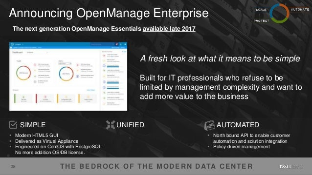 22by7 and DellEMC Tech Day July 20 2017 - Power Edge