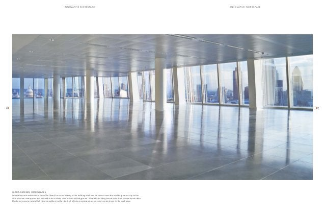 37  36  innoavtive wor k sap c e innoavtive wor k sap c e  Ultra-Modern Workspaces  Inspiration surrounds workforces in Th...