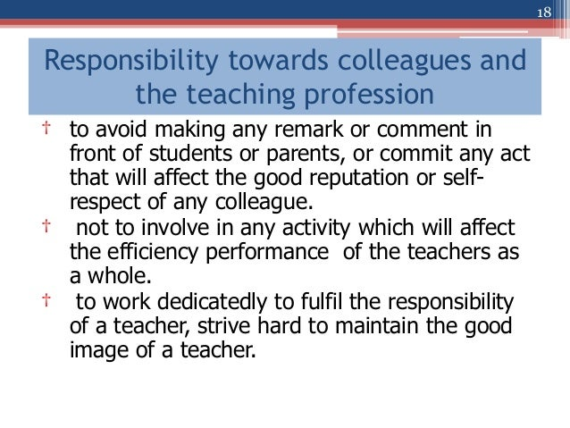 Teaching as a Profession and Code of Ethics of the Malaysian Teachin…