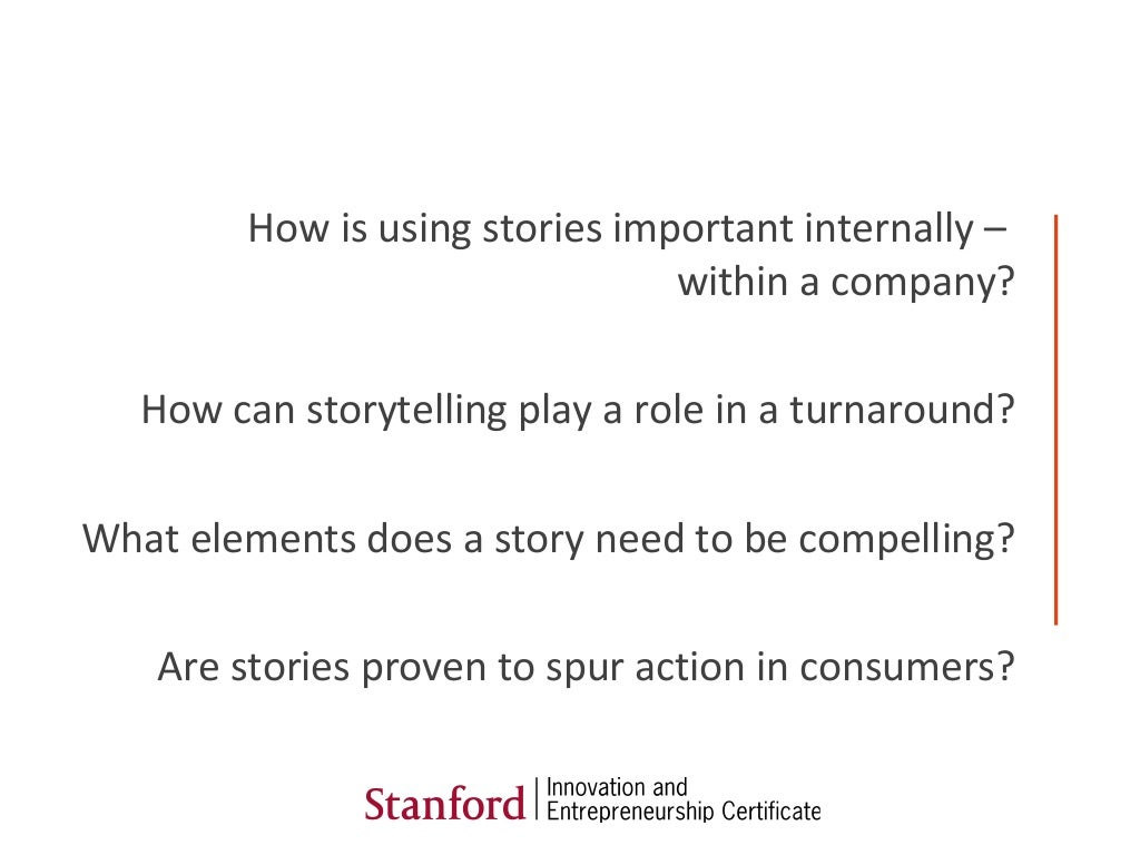 How Is Using Stories Important