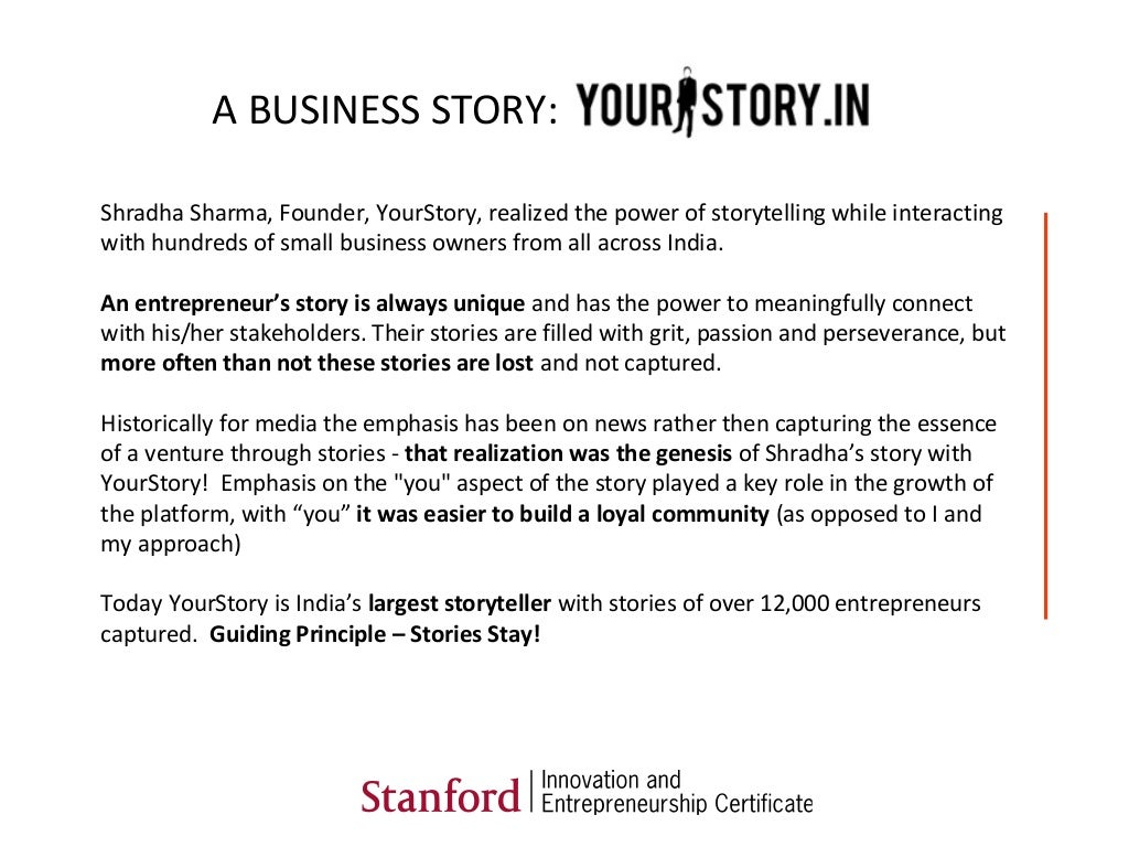 Shradha Sharma Founder Yourstory Realized