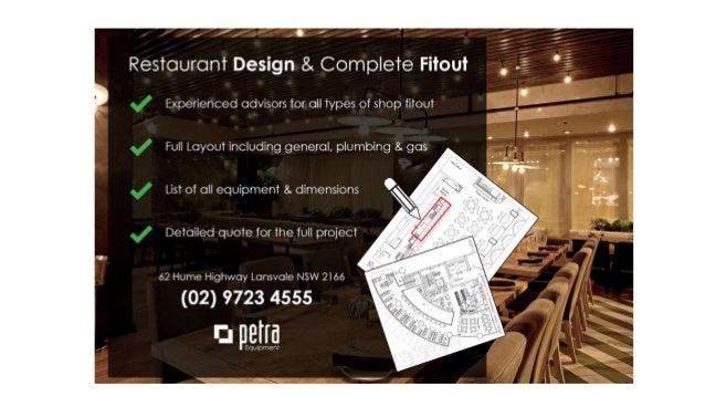 Restaurant Design & Commercial Kitchen Design