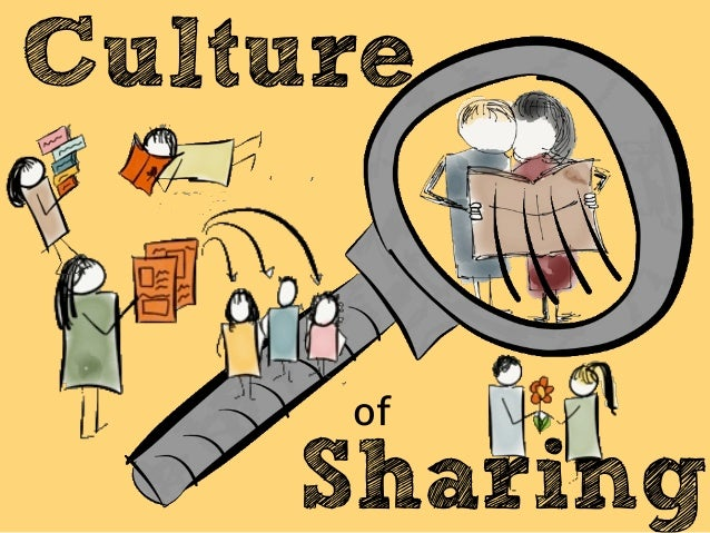 Image result for culture of sharing