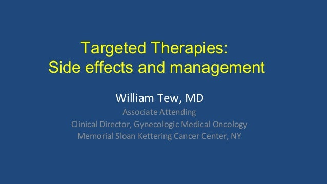 Side Effects Management For The Ovarian Cancer Community