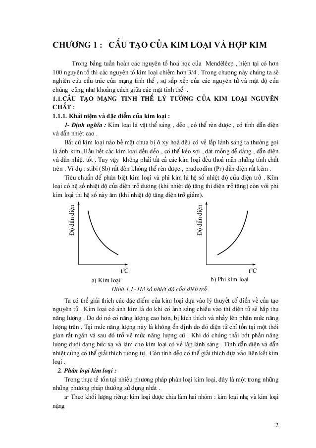 Giáo trình Vật liệu kỹ thuật - Cực hay Slide 2