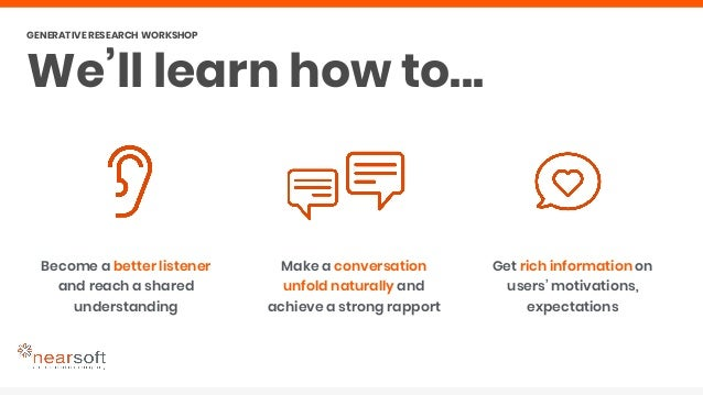 Discover ways to get stories full of emotion and detail Learn from the participant's own insights about themselves Feel tr...