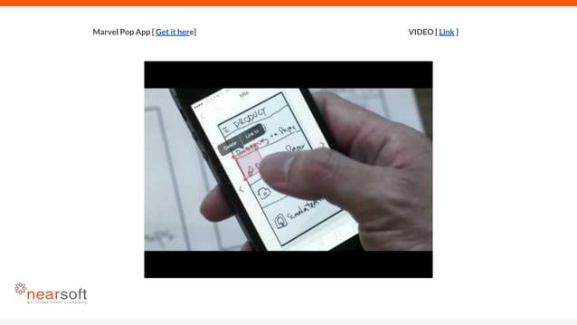 VIDEO [ Link ]Marvel Pop App [ Get it here]