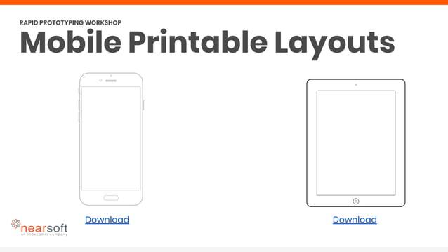 Download Download Mobile Printable Layouts RAPID PROTOTYPING WORKSHOP
