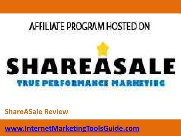 ShareASale Review<br />www.InternetMarketingToolsGuide.com<br />