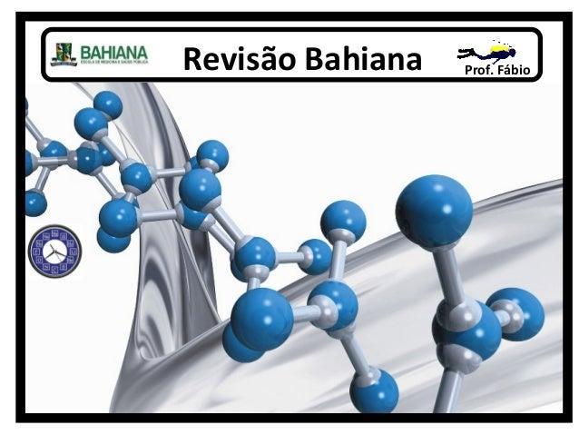 Prof. FábioRevisão Bahiana