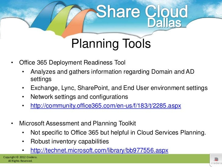 Office 365 Migration Planning