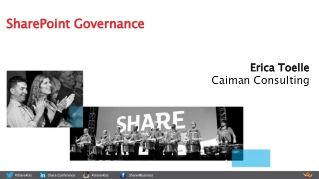 Erica Toelle Caiman Consulting SharePoint Governance