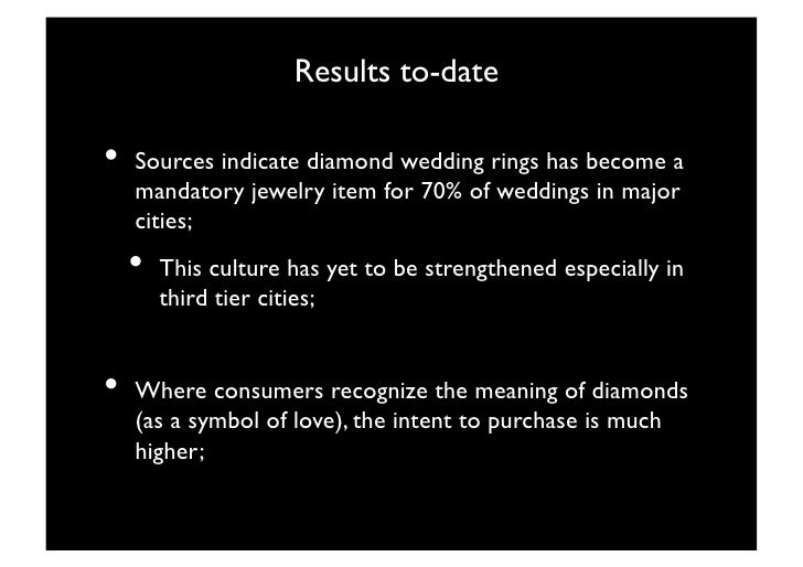 A Case Study On Diamond Marketing What Is The Meaning Of Diamond To