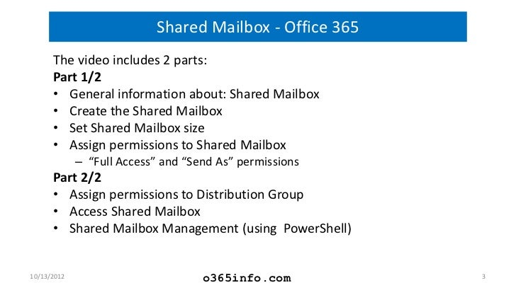 office 365 how to add shared mailbox