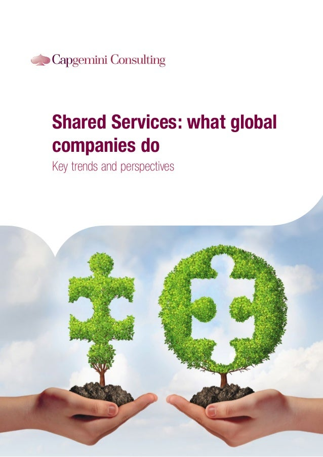 Shared Services: what global companies do Key trends and perspectives