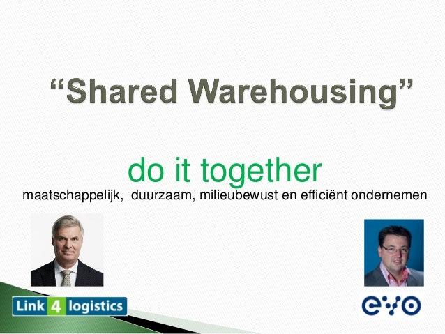 do it togethermaatschappelijk, duurzaam, milieubewust en efficiënt ondernemen