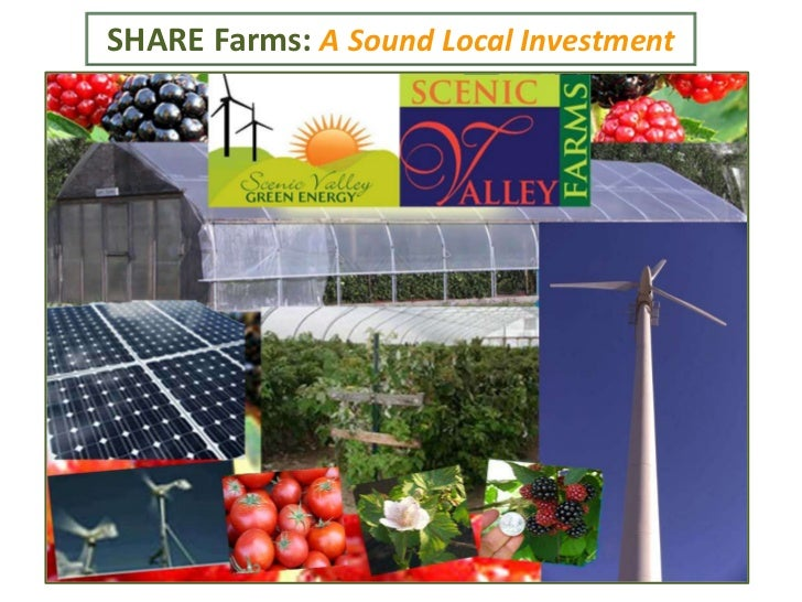 SHARE Farms: A Sound Local Investment
