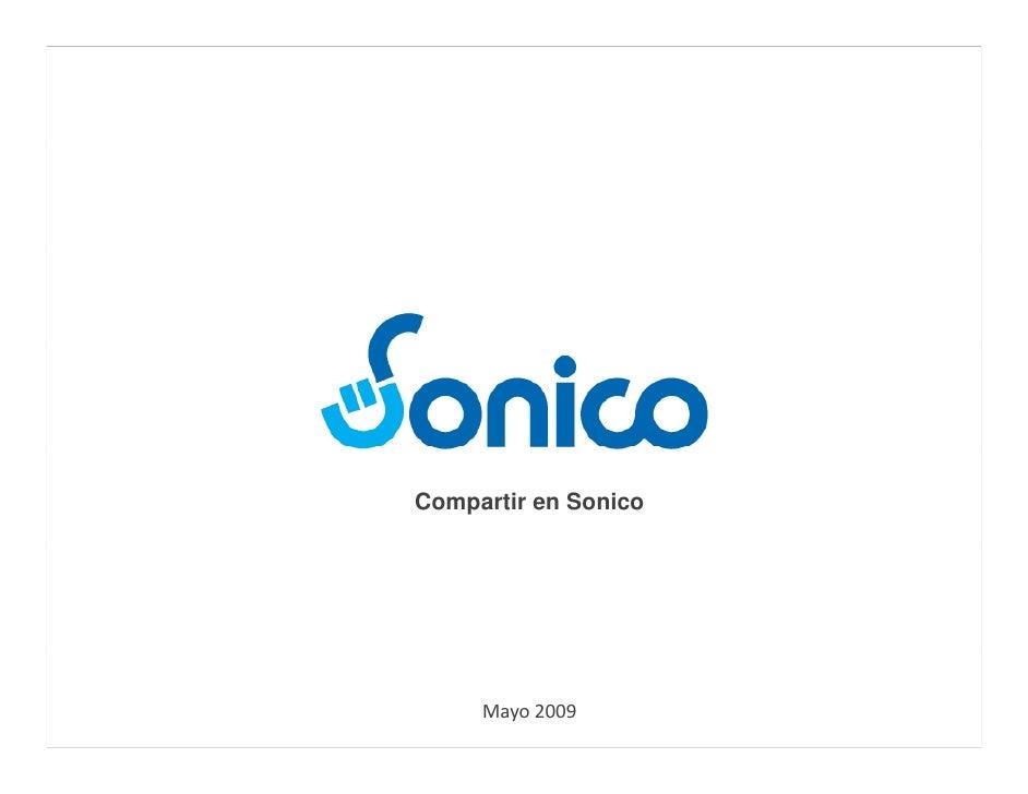 Compartir en Sonico          Mayo2009