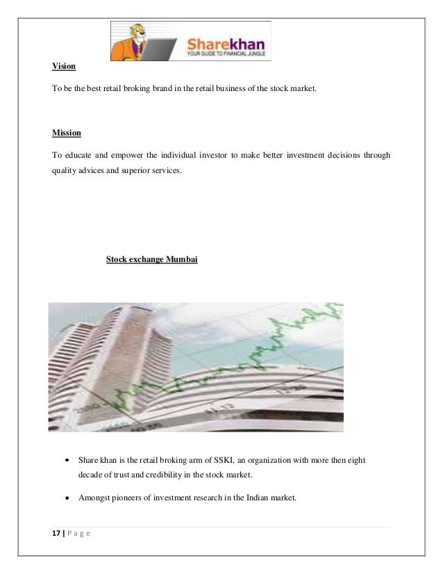 organisational study on sharekhan Easily share your publications and get them in front of issuu's millions of management (a case study of india infoline or mutual organization.