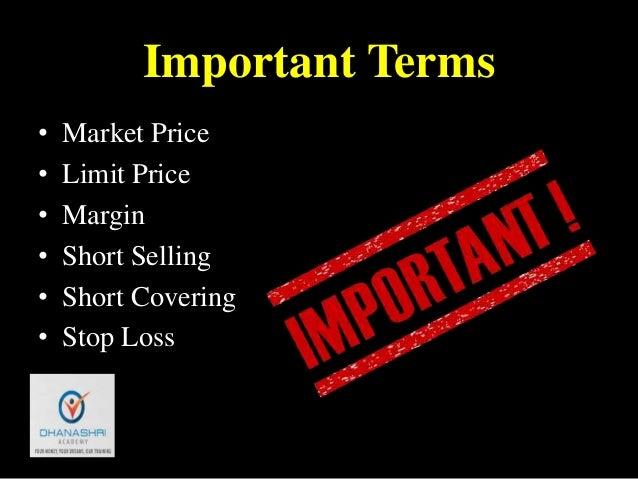 share market basics for beginners pdf