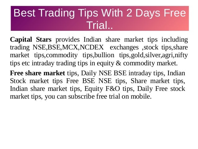 Share market tips Slide 2