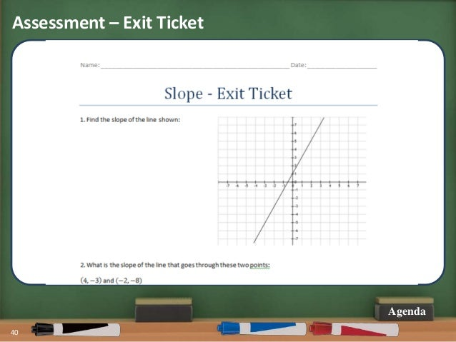 Share My Lesson: The Slope of a Line