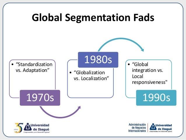 standardization vs localization Localization vs standardization: global approaches to csr management in  multinational companies pdf logo authors: bustamante, silke year of  publication.