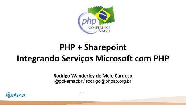 20 100 110 @pokemaobr / rodrigo@phpsp.org.br