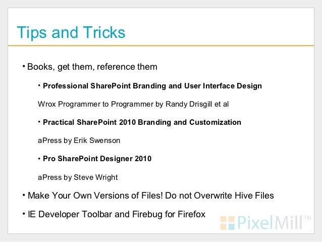 sharepoint 2010 branding templates - sharepoint branding change your look