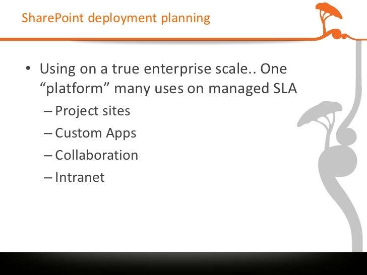 sharepoint implementation plan template - sharepoint post deployment stress management nzspc