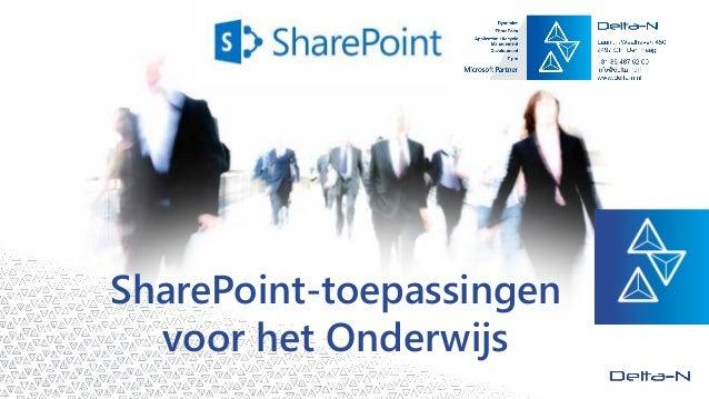 SharePoint-toepassingen voor het Onderwijs