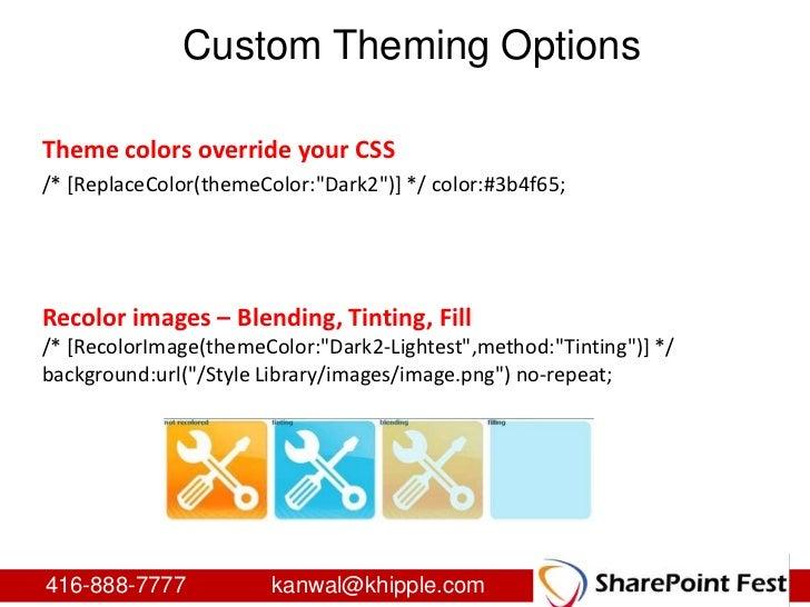 Sharepoint branding from start to finish for Sharepoint 2010 branding templates
