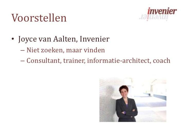 SharePoint2010 en metadata: do's en do not's Slide 2