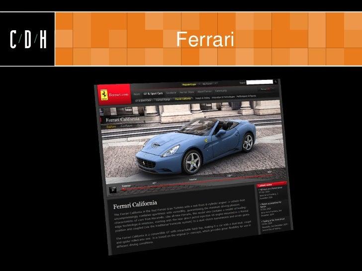 CDH   Ferrari