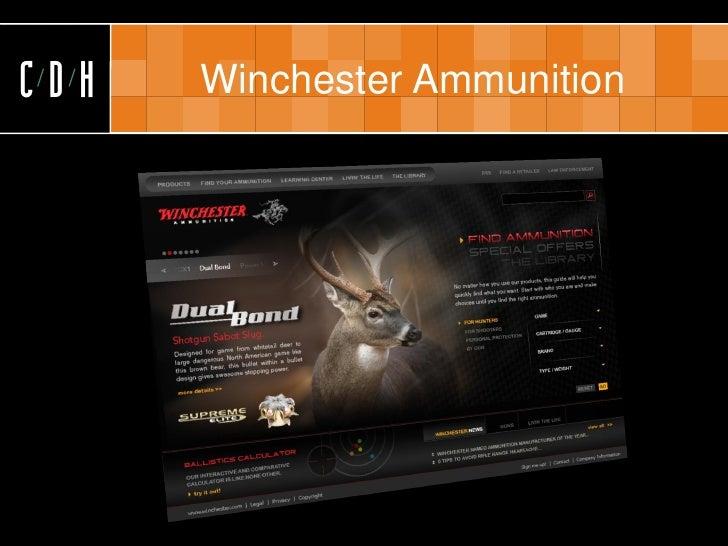 CDH   Winchester Ammunition