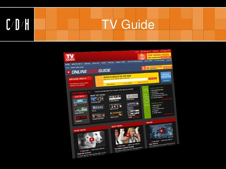 CDH   TV Guide