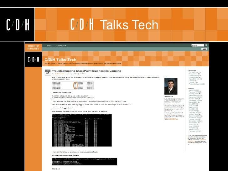 CDH   CDH   Talks Tech