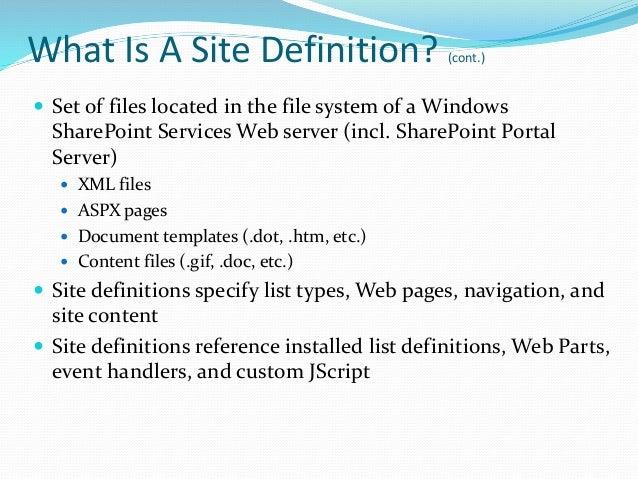 sites events files slides custom lucene queries