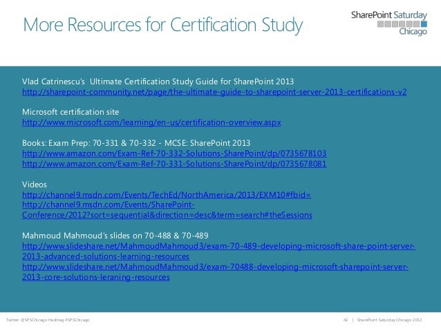 SharePoint 2013 Search Certification Overview