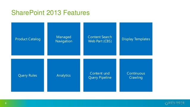 Sharepoint 2013 search driven websites collaboration days for Sharepoint 2013 product catalog site template