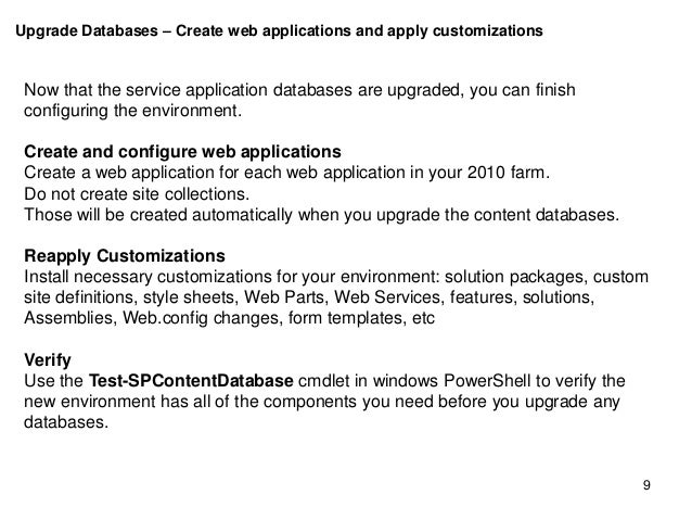 upgrade sharepoint 2010 to 2013 service applications